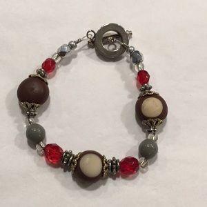Ohio State Buckeye bracelet